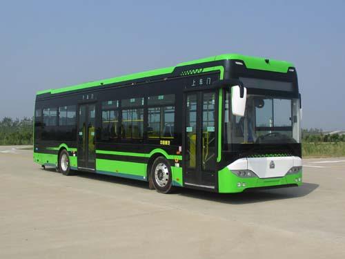 纯电动城市客车图片