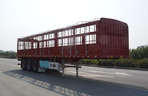 仓栅式运输半挂车图片