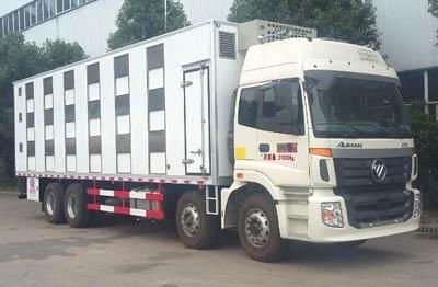 欧曼9.6米雏禽运输车