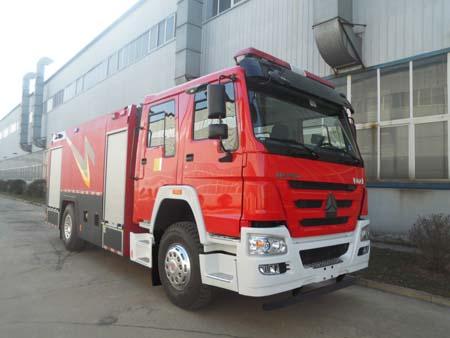 泡沫消防车正规厂家(AS5203GXFPM80/H5),厂家直销二手消防装备车