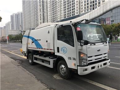 压缩式国五153压缩垃圾车使用说明8方压缩式垃圾车