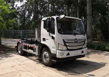北京市清洁机械厂BQJ5120ZXXE6型车厢可卸式垃圾车