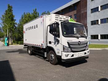 北京市清洁机械厂BQJ5080XYYE6型医疗废物转运车