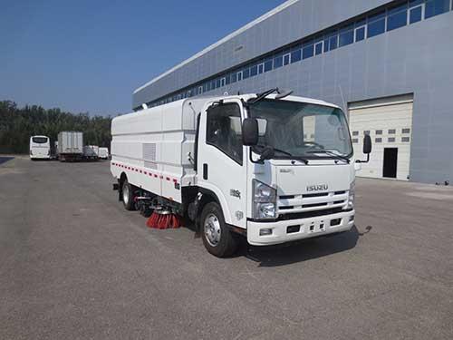北京市清洁机械厂BQJ5101TXSE5型洗扫车