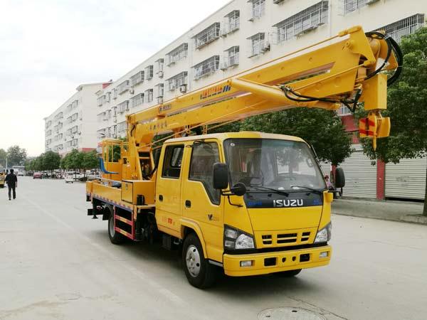 庆铃18.5米高空作业车