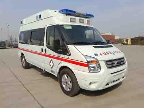 新世代V348中顶运输型救护车