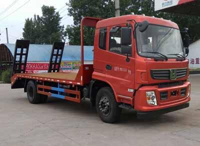 程力威牌平板运输车专用性能 :20吨平板运输车图片