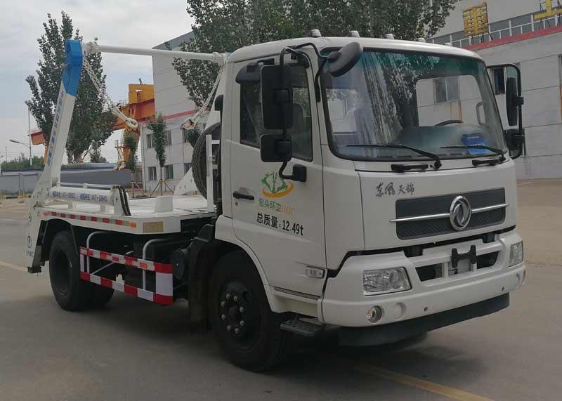 什么摆臂式垃圾车适合小区用?根据垃圾车视频
