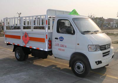东风俊风3.3米气瓶运输车(仓栏)