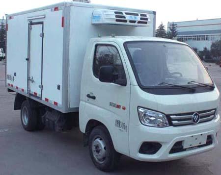 夏日炎炎,福田牌冷藏车(BJ5031XL福田牌JV4-51)为您带来清凉荆州到台州物流冷藏车