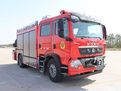 重汽T5G抢险救援消防车