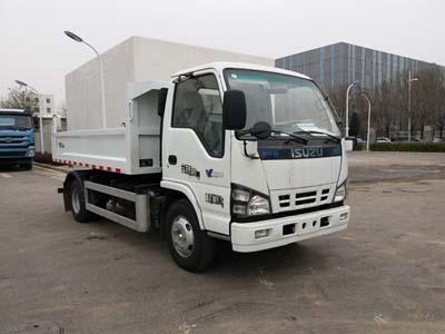 北京市清洁机械厂BQJ5070ZLJE6型自卸式垃圾车