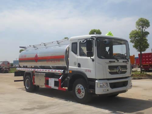 国五多利卡D9铝合金运油车14.3立方米