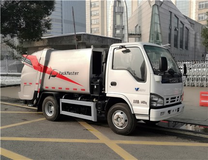 三力牌压缩式垃圾车多少钱一辆?压缩式垃圾车使用方法