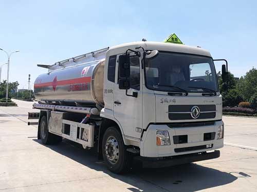 国6天锦铝合金运油车16.6立方米