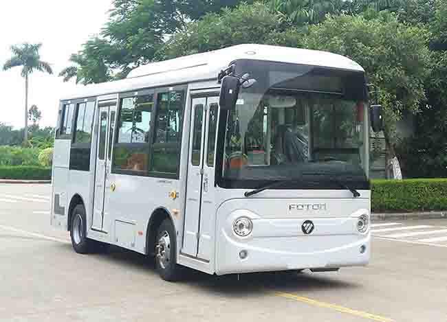 北汽福田汽车BJ6650EVCA-7型纯电动城市客车