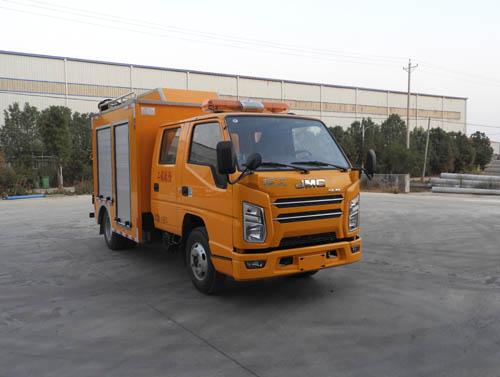 工程救险车可以装警灯吗图片