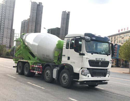 奥龙汽车有限公司ALA5312GJBZ5型混凝土搅拌运输车