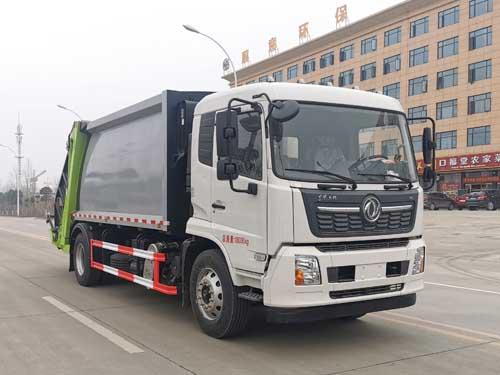 国6天锦12方压缩式垃圾车