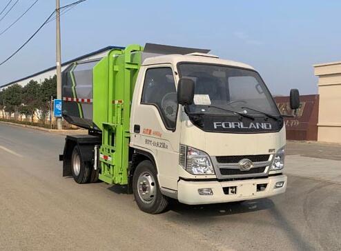 CLW5041ZZZ6CD自裝卸式垃圾車