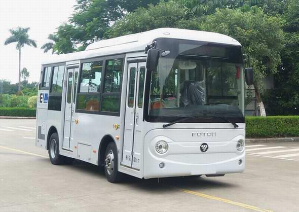 北汽福田汽车BJ6650EVCA-9型纯电动城市客车