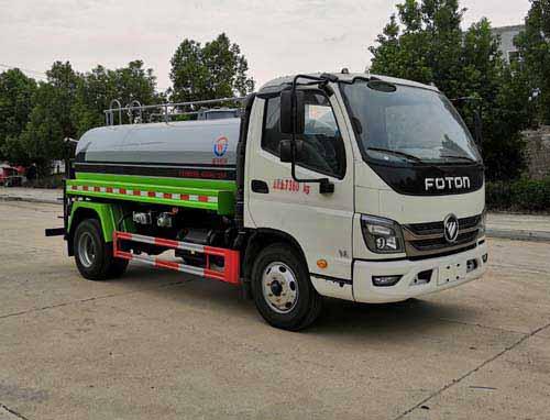 福田5方綠化噴灑車