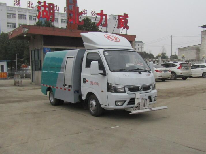 HLW5030GQX6EQ清洗车东风蓝牌路面冲洗车