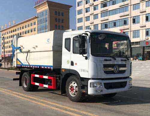 奥龙汽车有限公司ALA5180ZDJE6型压缩式对接垃圾车