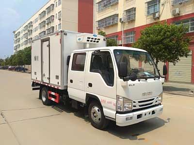 国六庆铃五十铃双排3.15冷藏车