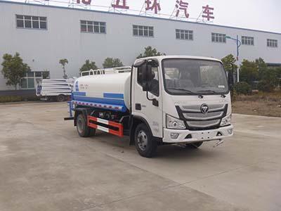 華通牌福田國六2方灑水車圖片