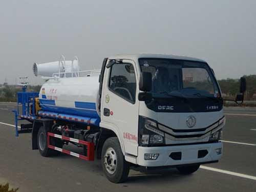 国六东风5方绿化喷洒车
