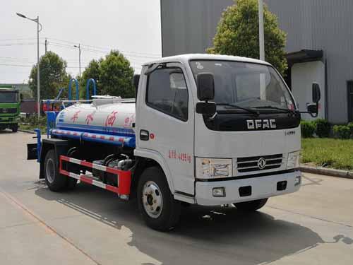 国六东风蓝牌绿化喷洒车