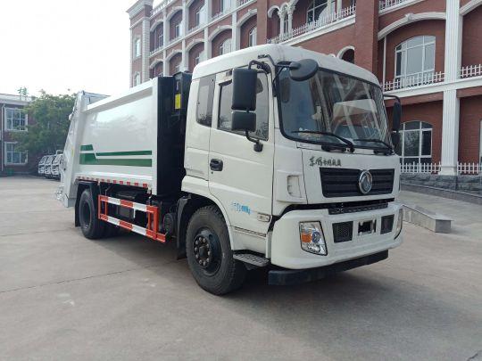 東風專底壓縮垃圾車使用方法和步驟