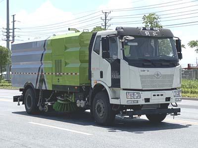 解放16噸洗掃車