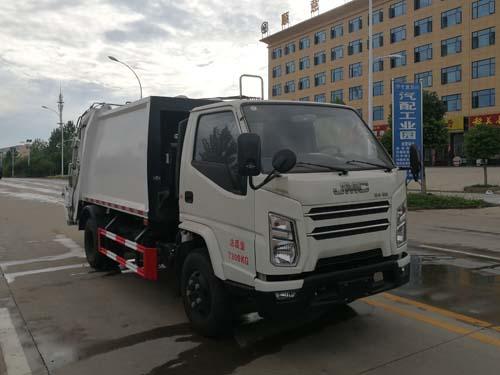 国六江铃6方压缩式垃圾车