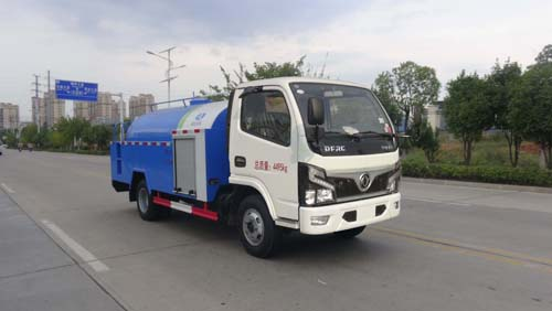 HCQ5045GQXEQ6清洗车东风蓝牌高压清洗车2立方