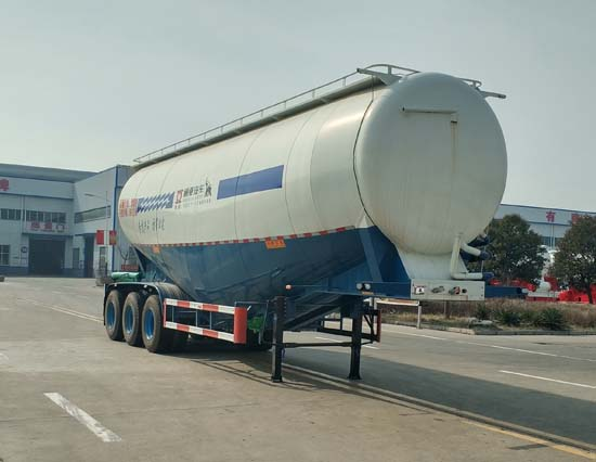 低密度粉粒物料运输半挂车图片