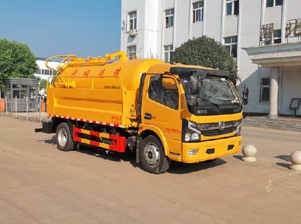 HLQ5122GQWE6清洗吸污车