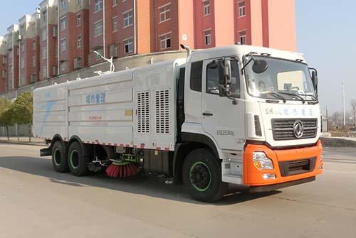 東風天龍22噸洗掃車