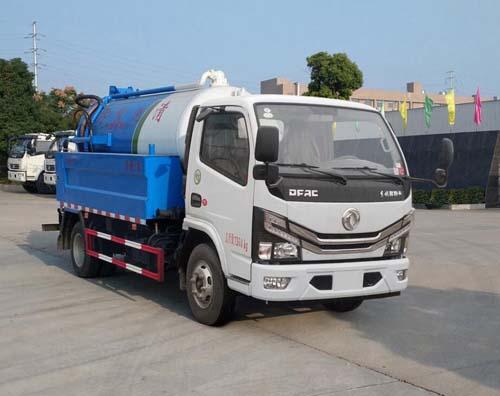 东风3吨吸污车哪家质量好吸污管道清洗车图片图片
