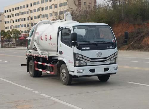 东风3立方吸污车吸满需要多长时间5吨吸污车哪里有卖图片
