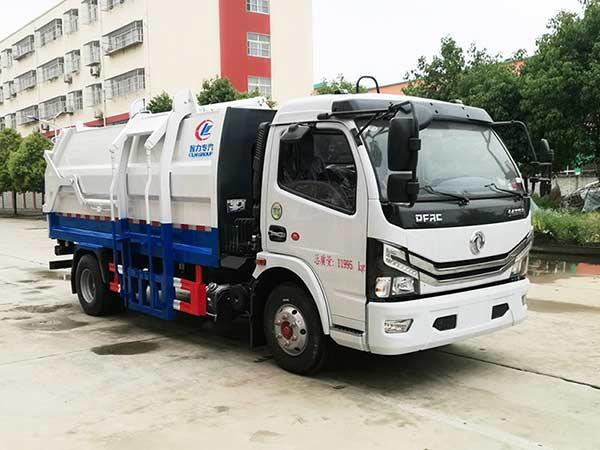 CLW5120ZZZ6自装卸式垃圾车