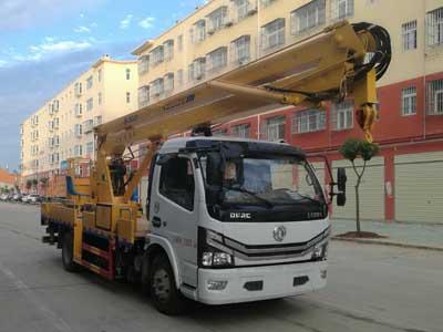 多利卡单排18.5米高空作业车