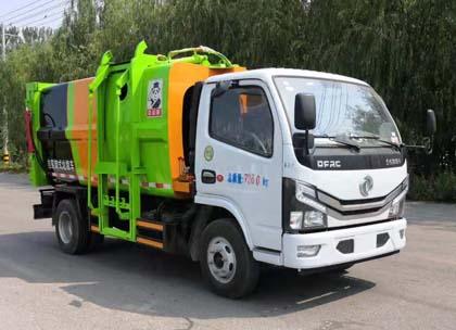自装卸式垃圾车图片