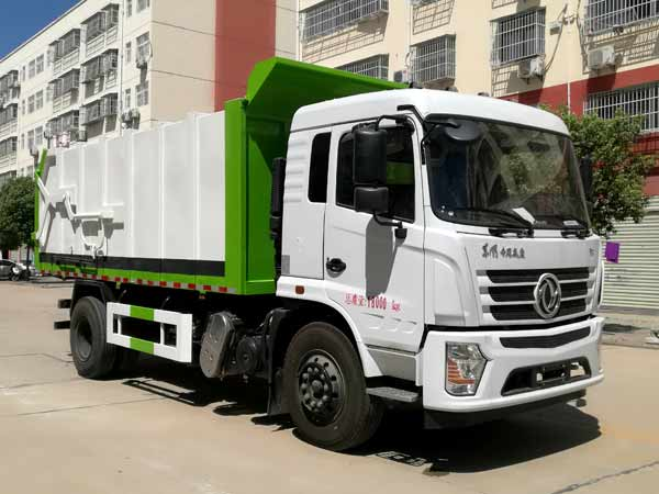 東風專用12方壓縮式對接垃圾車