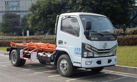 車廂可卸式垃圾車圖片