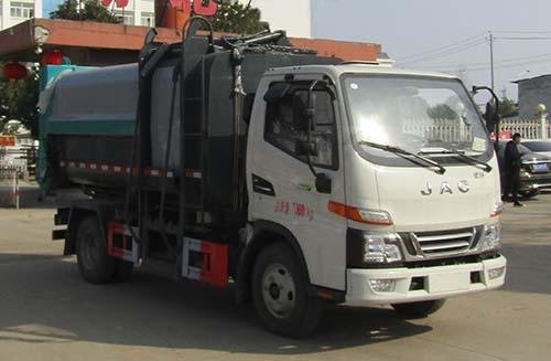 CLW5070ZZZ6SL自裝卸式垃圾車