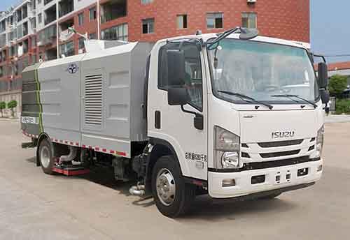 五十鈴8噸吸塵車