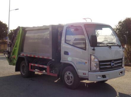 CLW5046ZYS6CD压缩式垃圾车