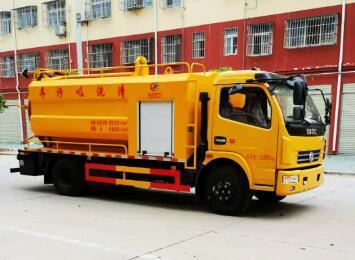 CLW5121GQW6清洗吸污车